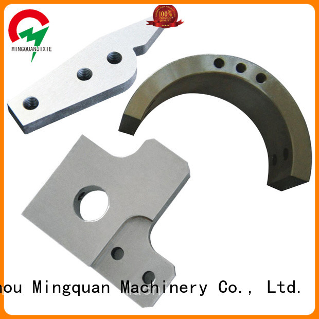 Mingquan Machinery cnc parts supply series for machine
