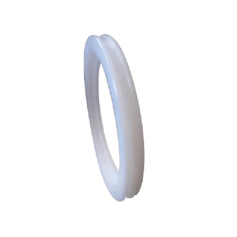 HDPE Engineer Plastic Custom Machined Precision Parts Flange Parts