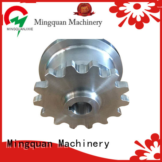 Mingquan Machinery cnc precision parts supplier for machine
