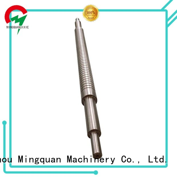 mechanical 304 stainless steel shaft customized for workshop Mingquan Machinery