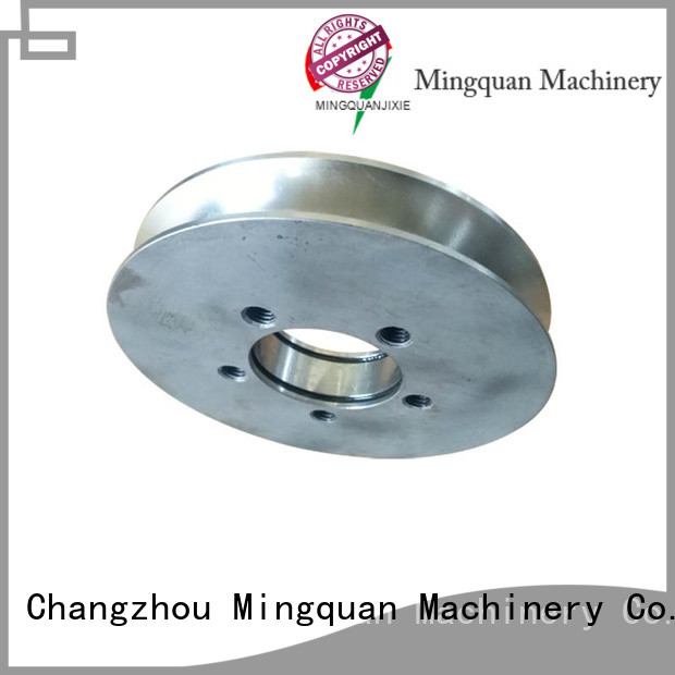 Mingquan Machinery mechanical cnc parts for machine