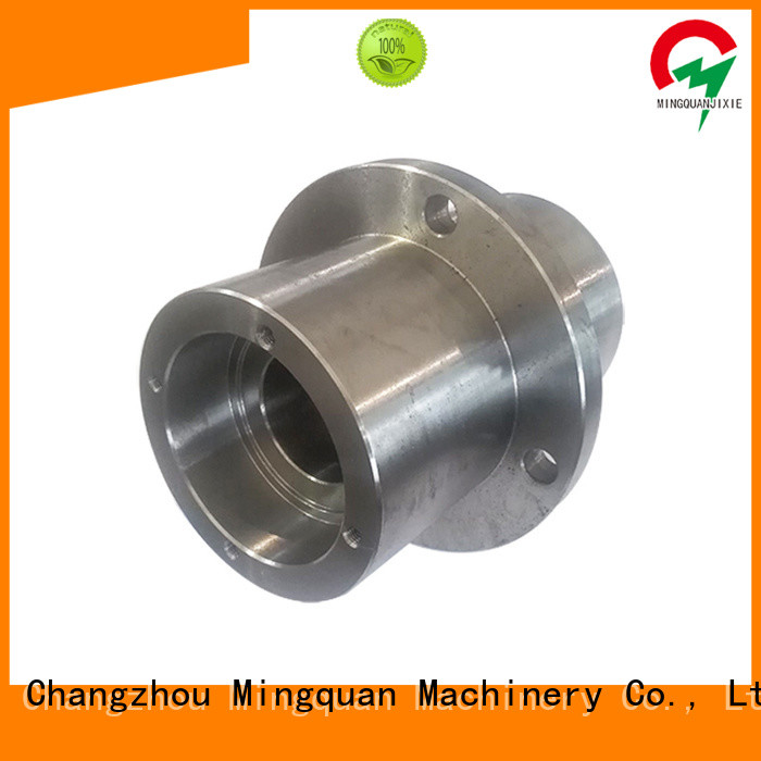 Mingquan Machinery good quality custom made aluminum parts personalized for turning machining