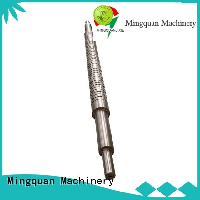 Mingquan Machinery custom machining shaft parts manufacturer for factory