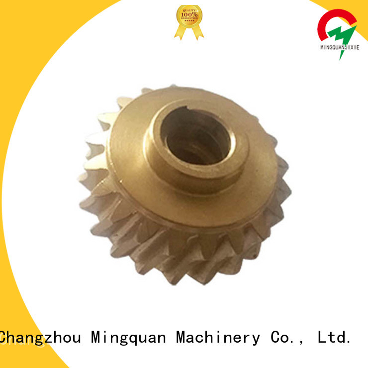 custom cnc parts supplier for CNC milling Mingquan Machinery