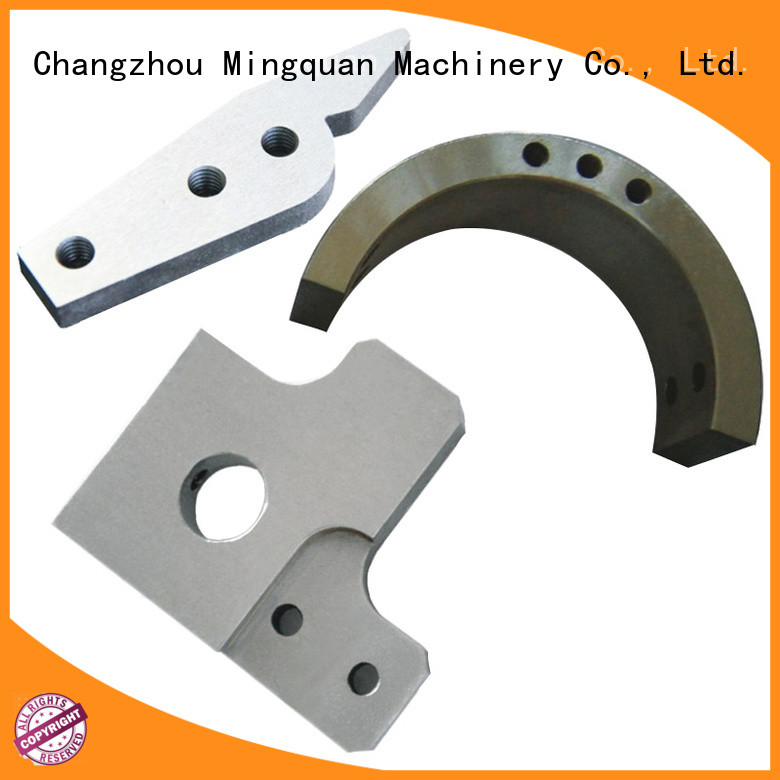 Mingquan Machinery practical cnc machined components on sale for machine