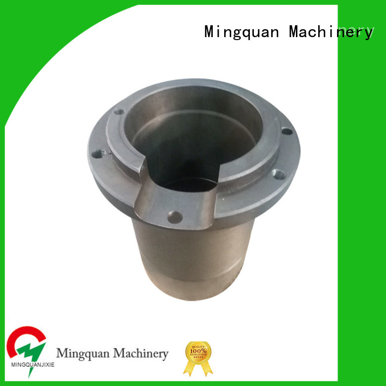 Mingquan Machinery mechanical small aluminum parts personalized for factory