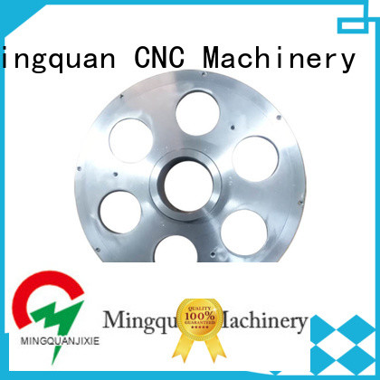 Mingquan Machinery customized cnc steel parts supplier for factory