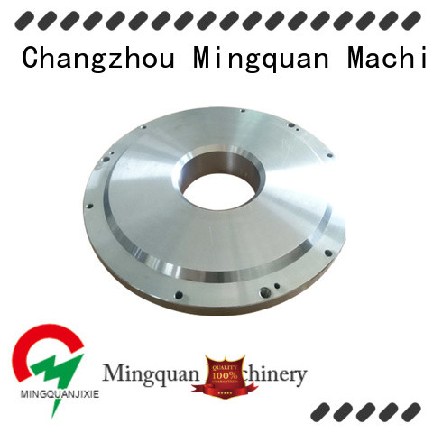 Mingquan Machinery accurate brass flange manufacturer for industry