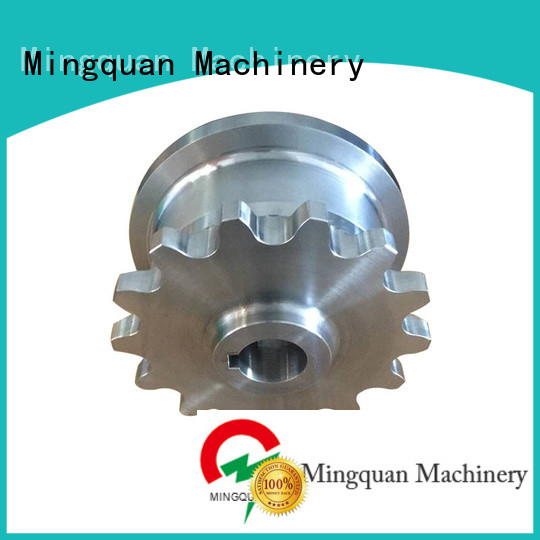Mingquan Machinery machined parts china with good price for CNC milling
