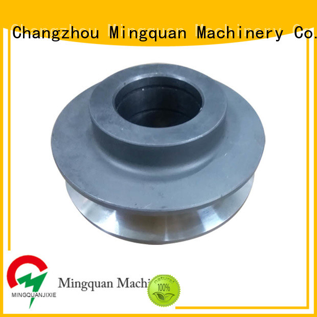coated custom cnc aluminum parts factory price for machine Mingquan Machinery