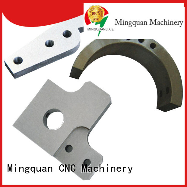 Mingquan Machinery stainless brass machined parts series for turning machining