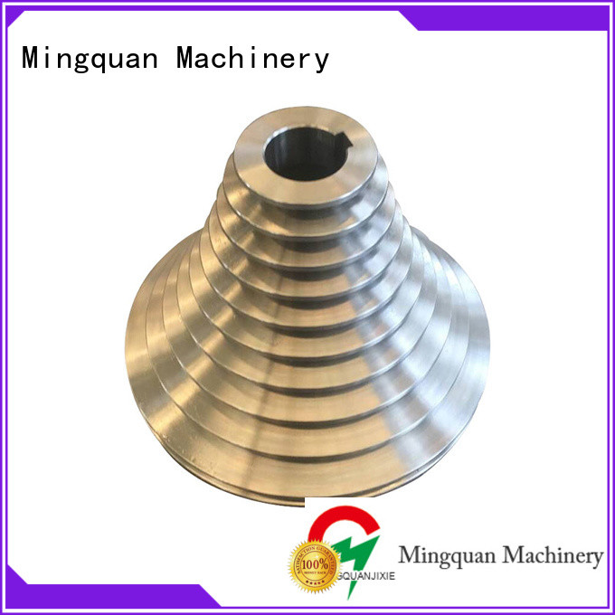Mingquan Machinery custom machined parts factory price for turning machining