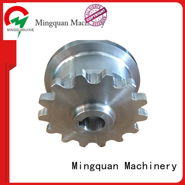Mingquan Machinery good quality custom machined parts wholesale for CNC milling