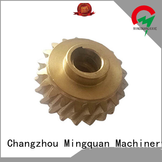 Mingquan Machinery mechanical stainless steel turning parts for machine