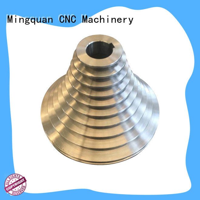 Mingquan Machinery accurate custom machined parts with good price for factory