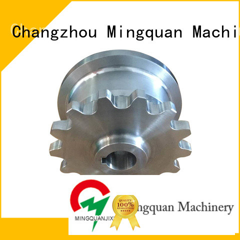Mingquan Machinery cnc turning parts supplier for factory