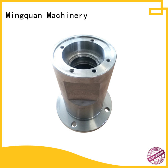 Mingquan Machinery cnc components factory price for turning machining