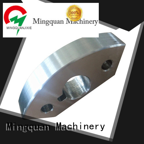 Mingquan Machinery reliable brass parts from China for CNC milling