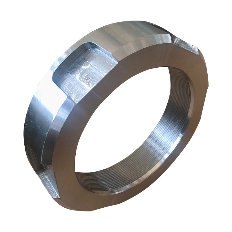 Customized Diameter Steel Flanges / Stainless Steel Precision CNC Machining Big Size Flange