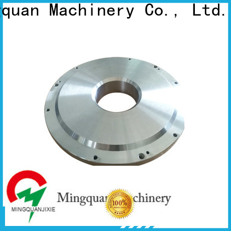Mingquan Machinery cnc component with discount for factory