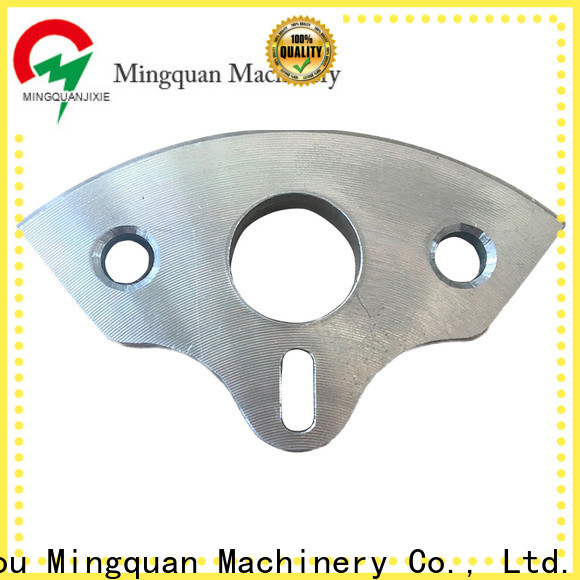 Mingquan Machinery cnc parts supply from China for factory