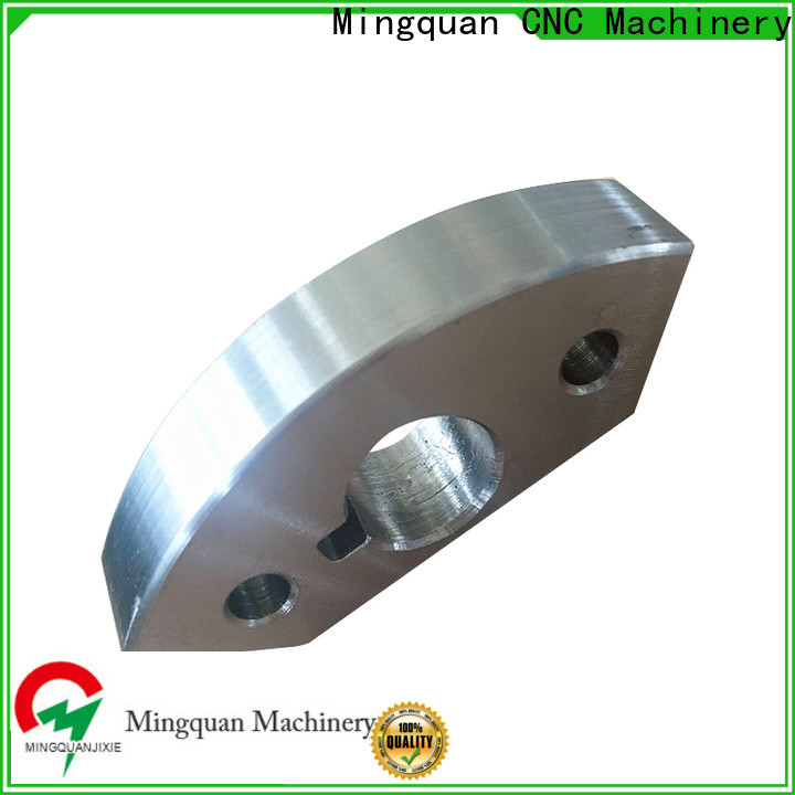 Mingquan Machinery quality cnc machining steel parts from China for factory