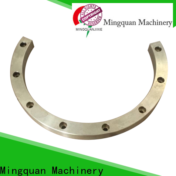 Mingquan Machinery practical stainless steel machined parts supplier for factory