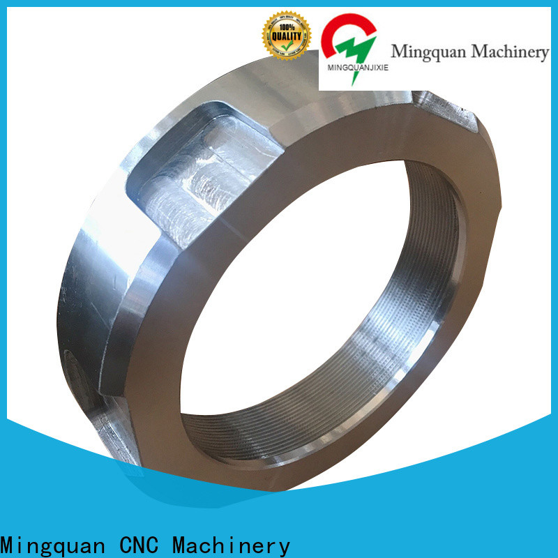Mingquan Machinery best cnc machining parts supplier for workshop