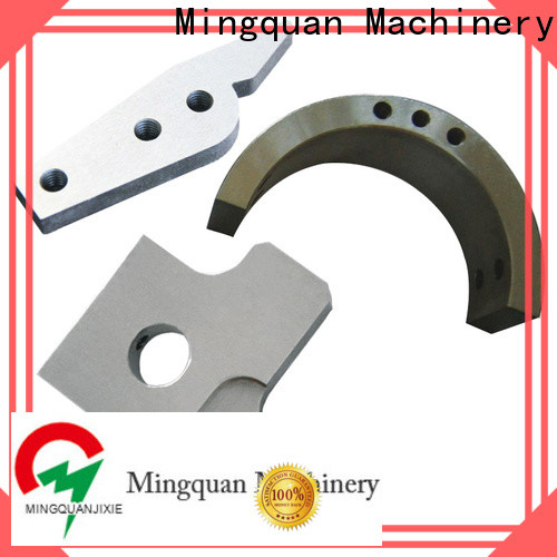Mingquan Machinery durable brass machined parts directly sale for turning machining