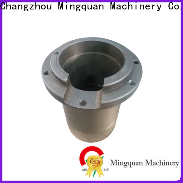 Mingquan Machinery machined parts with good price for turning machining