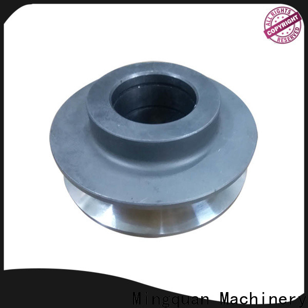Mingquan Machinery stainless steel custom made aluminum parts with good price for machinery
