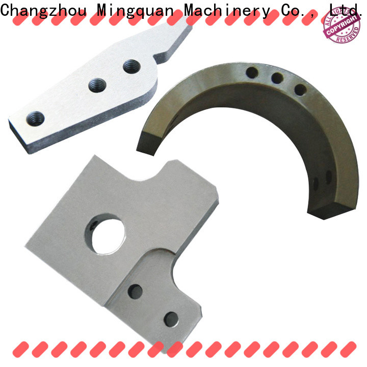 Mingquan Machinery stainless precision cnc machining supplier for machine