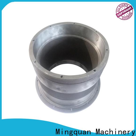 Mingquan Machinery customized aluminum part bulk production for machine