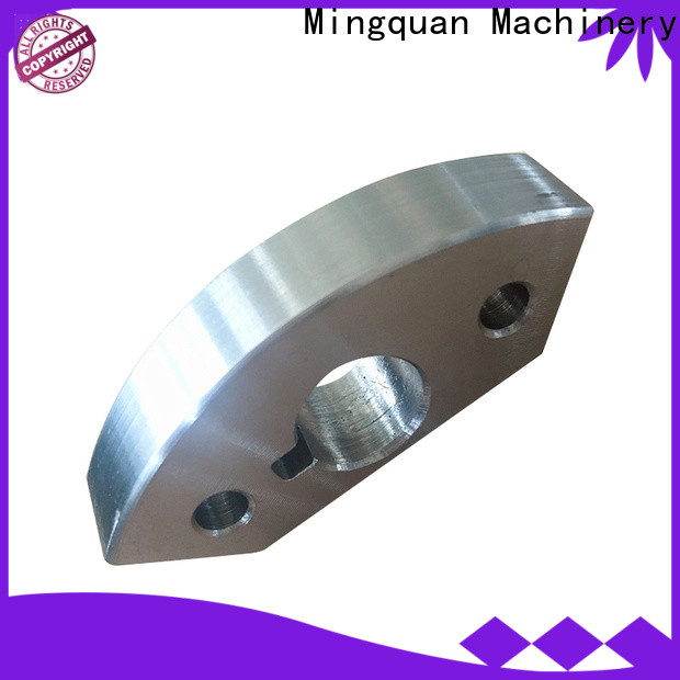 Mingquan Machinery stainless cnc machinery parts supplier for machine