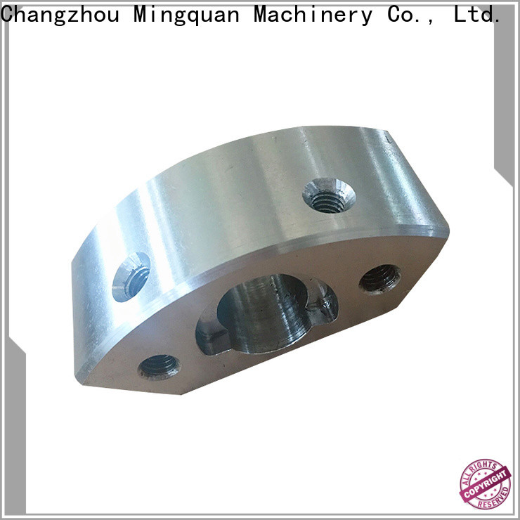 Mingquan Machinery cnc machining steel parts directly sale for CNC milling