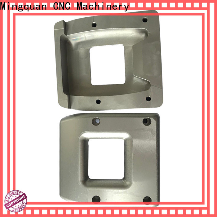 Mingquan Machinery aluminum machined parts online for CNC milling