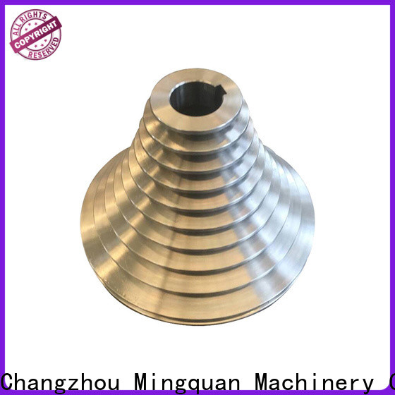 Mingquan Machinery stable custom cnc aluminum parts with good price for machinery
