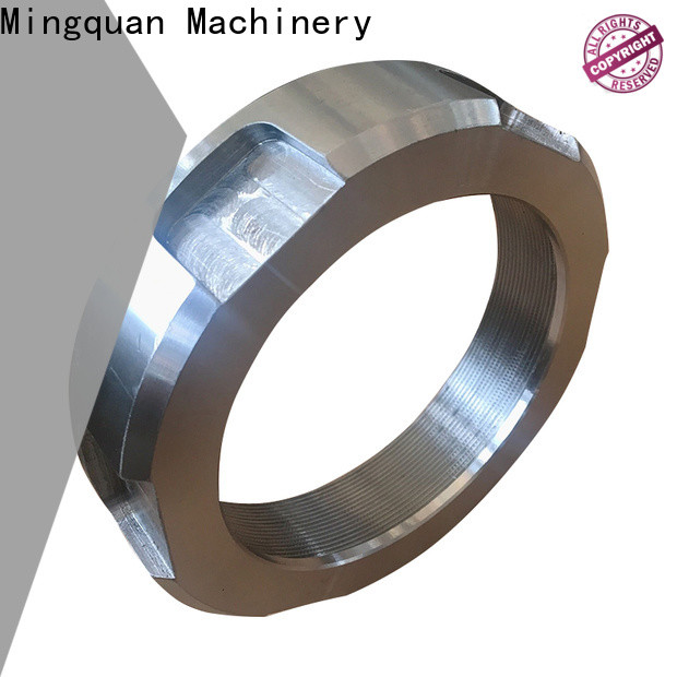 Mingquan Machinery precise alloy steel flanges supplier for factory
