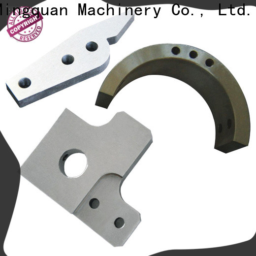 Mingquan Machinery customized brass machined parts from China for turning machining
