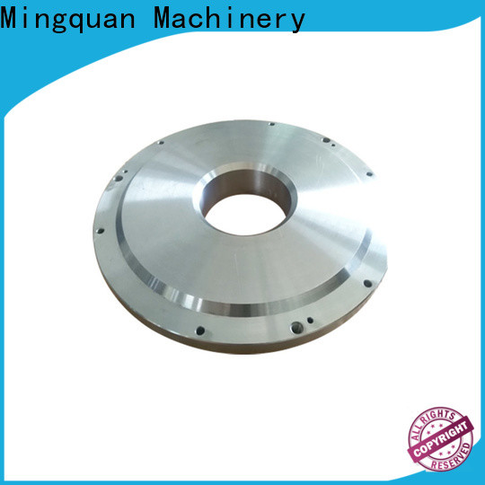 Mingquan Machinery stainless cnc parts services factory price for plant