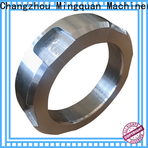 Mingquan Machinery customized cnc steel parts personalized for workshop