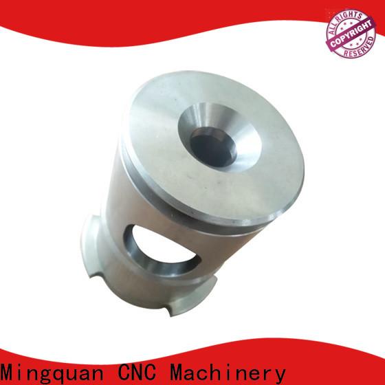customized aluminum part bulk production for turning machining