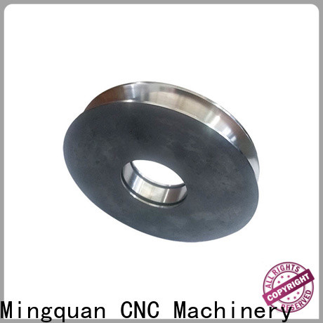 Mingquan Machinery customized machining aluminum parts factory price for turning machining