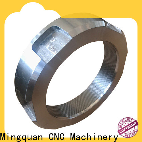 Mingquan Machinery top rated customized cnc steel parts supplier for factory