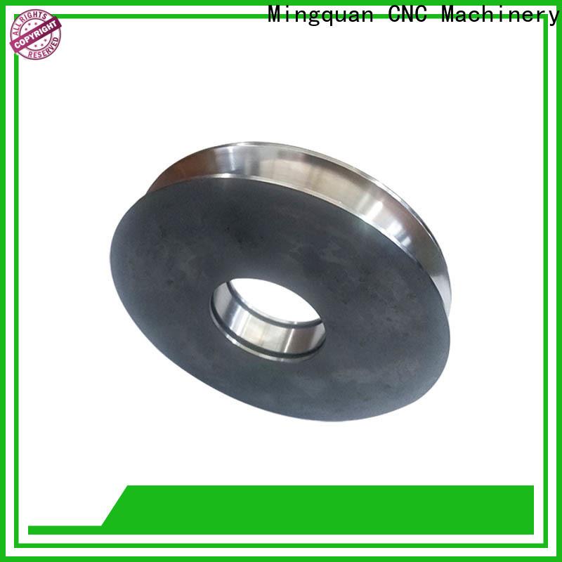 good quality custom made aluminum parts bulk production for CNC milling