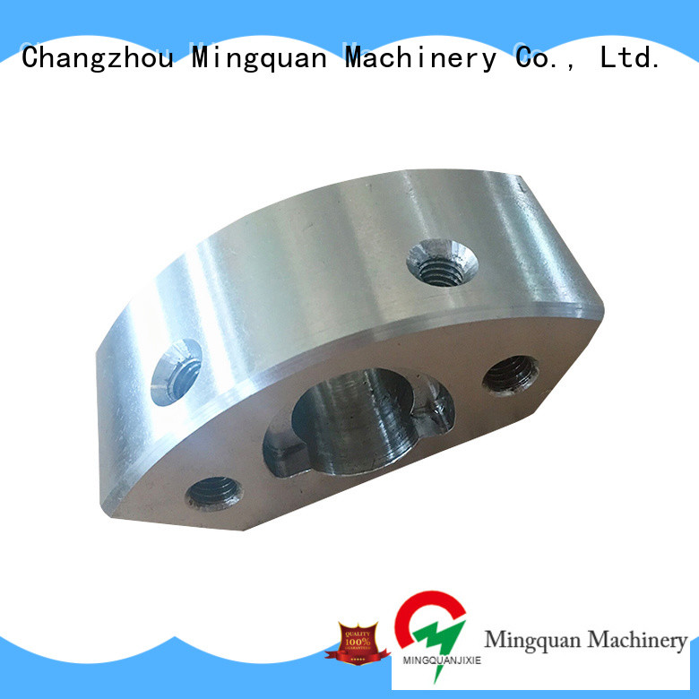 Mingquan Machinery practical precision machined parts china series for CNC machine