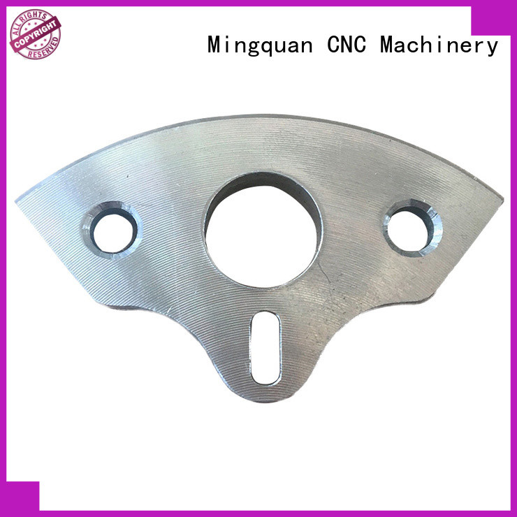 Mingquan Machinery custom made aluminum machined parts supplier for CNC machine
