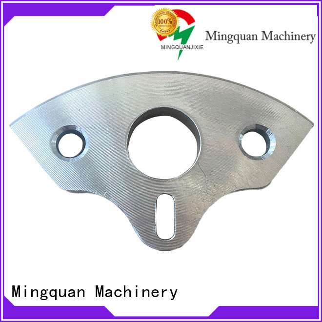 Mingquan Machinery stainless cnc lathe parts factory price for machine