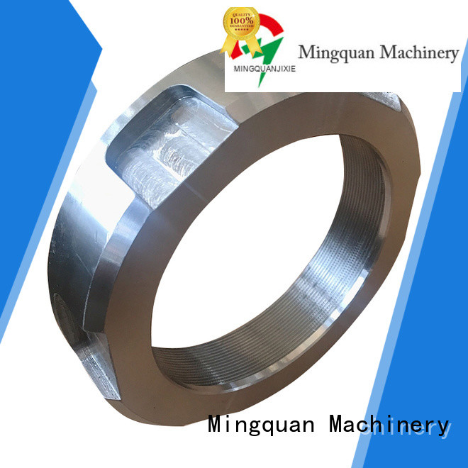 Mingquan Machinery flange parts factory price for industry