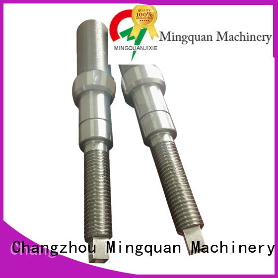 Mingquan Machinery precise custom machining shaft parts supplier for factory